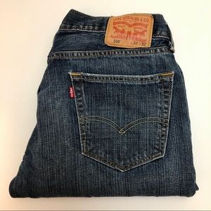 Levi's 559 Relaxed Dark Vintage Wash Jeans 32x32